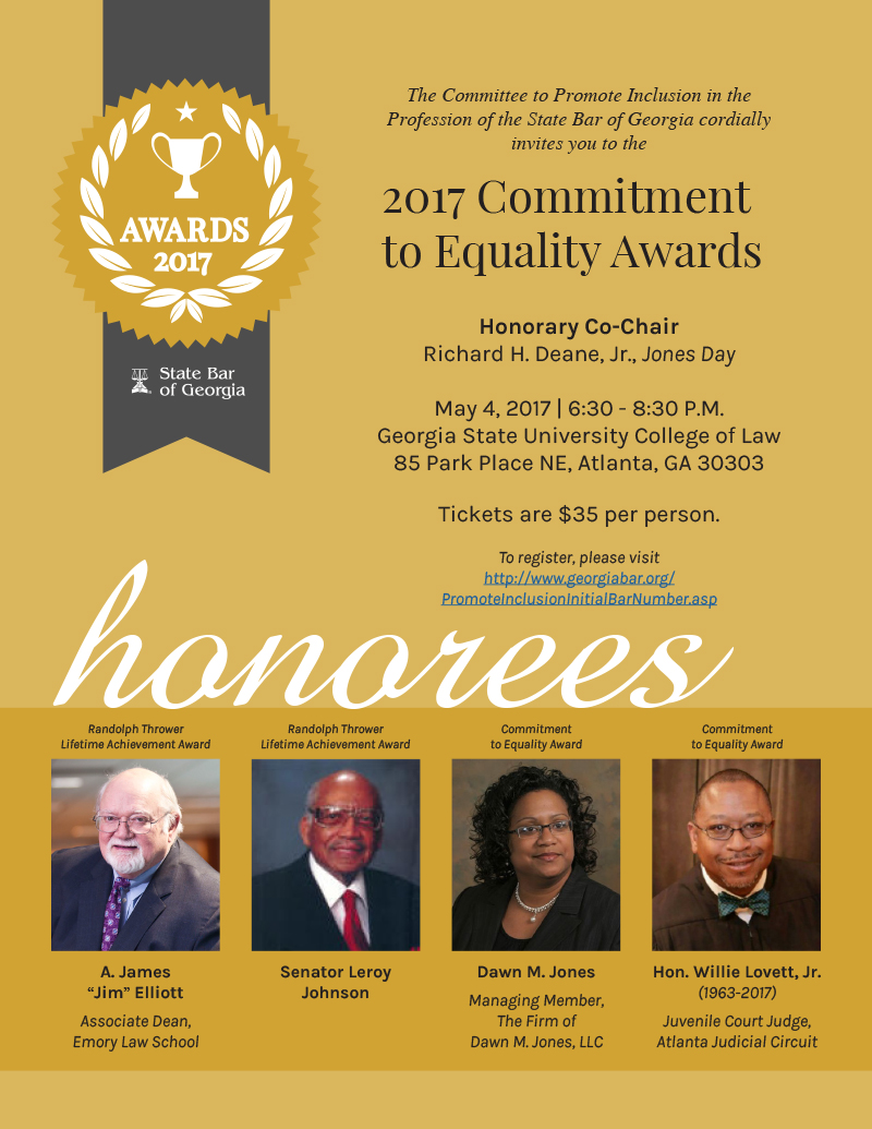 2017 Commitment to Equality Awards