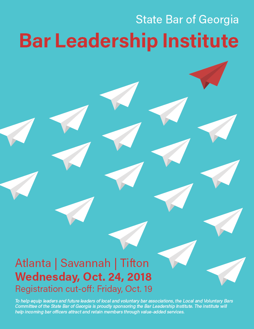 2018 Bar Leadership Institute