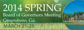 2014 Spring Board of Governors Meeting