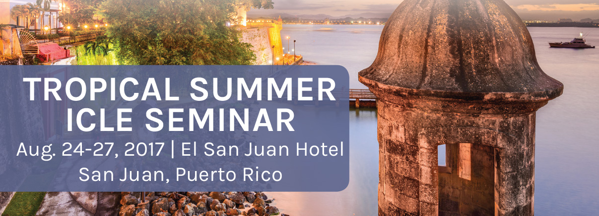 Tropical Summer ICLE Seminar